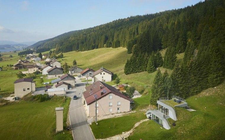 nice design modern architecture village
