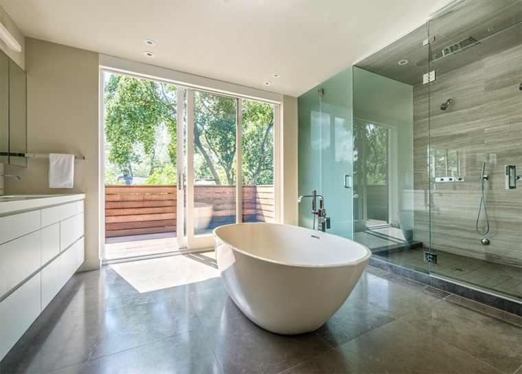 bonito diseño baño minimalista