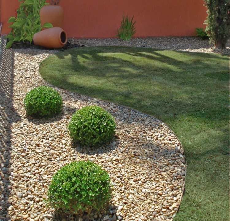 bonito diseño parcela jardin
