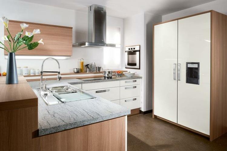 Dise os cocinas peque as modernas cincuenta modelos - Ver muebles de cocina modernos ...