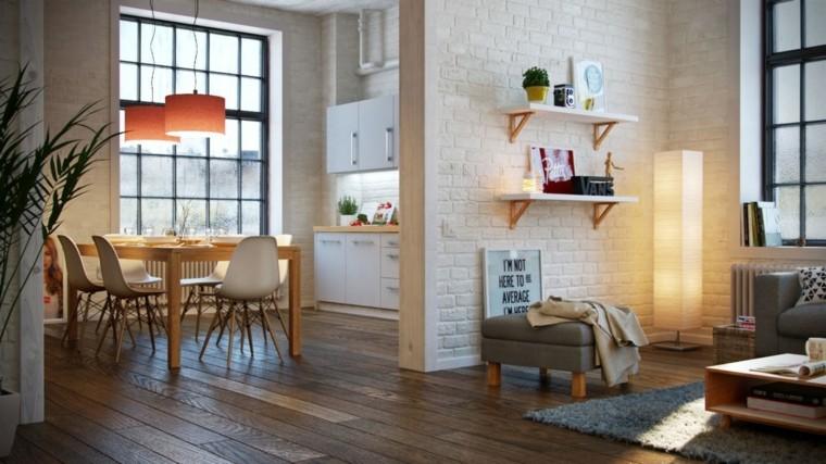 bonito diseño cocina comedor