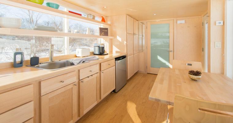 cocina diseño comedor madera