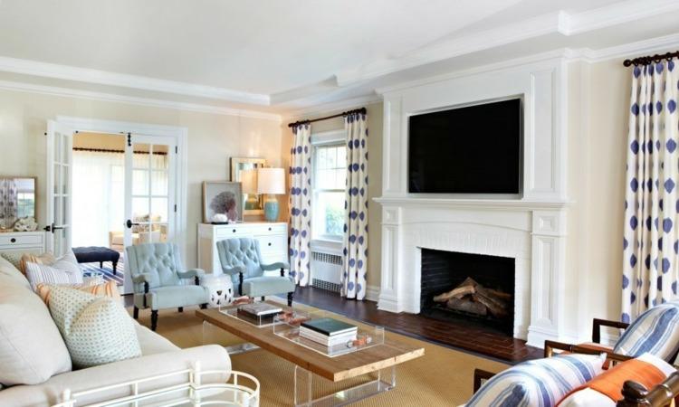 Decoraci n de salones modernos muebles y accesorios - Salon estilo colonial ...