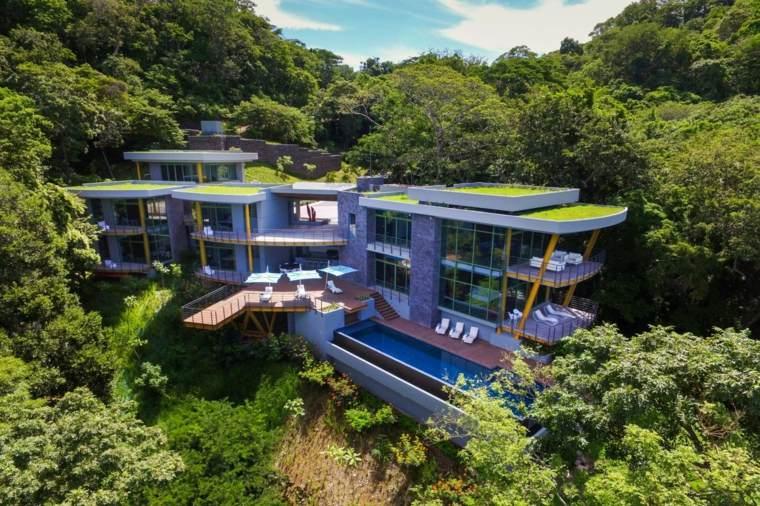 edificio lujoso diseño moderno
