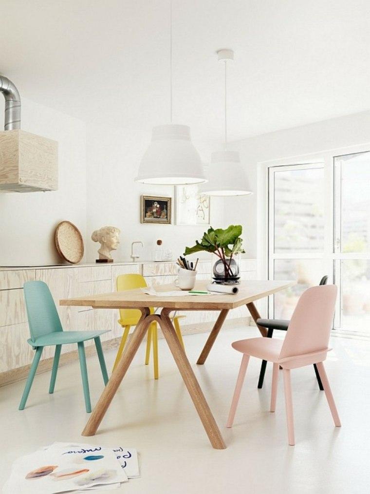 bonito diseño sillas comedor