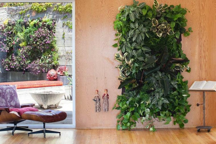 bonitos diseños jardines verticales modernos
