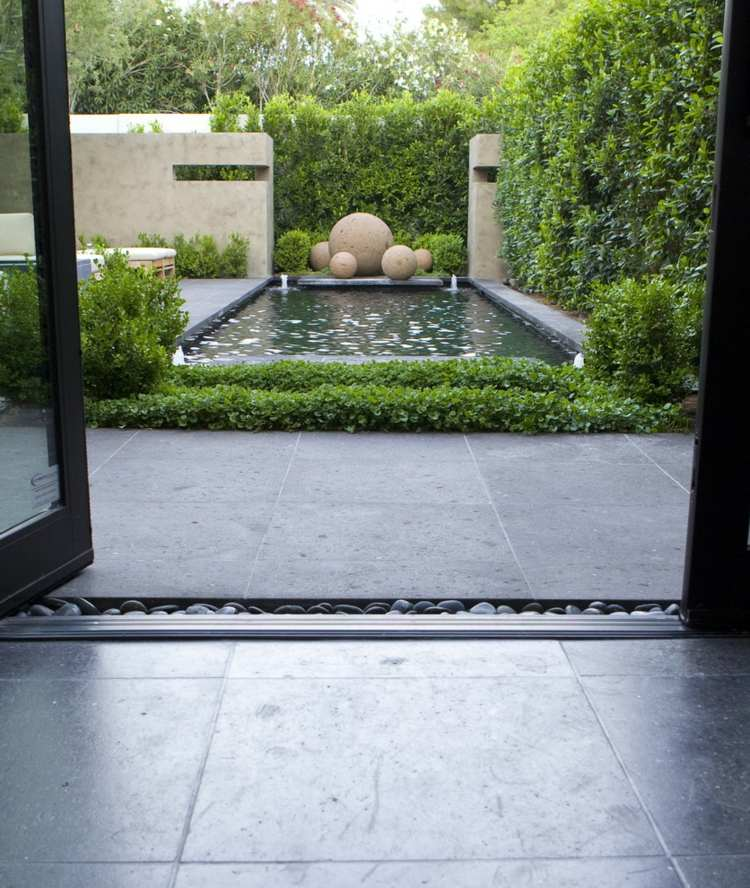 minimalismo en el jard n 100 dise os paisaj sticos. Black Bedroom Furniture Sets. Home Design Ideas