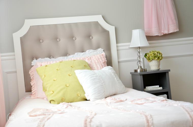 Como tapizar un cabecero cincuenta ideas originales - Como tapizar cabeceros de cama ...