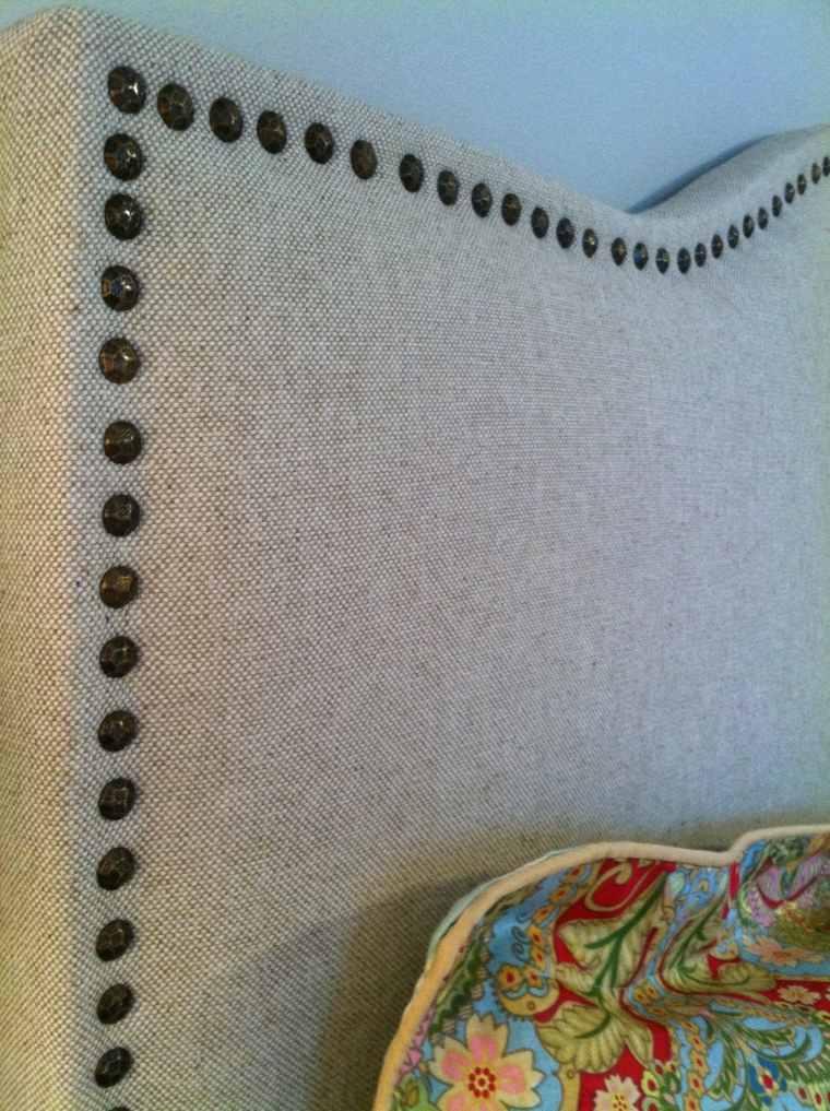 bonito diseño cabecero tapizado