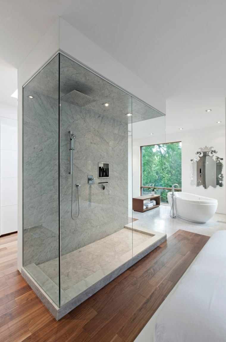 cabina ducha diseño moderno deco