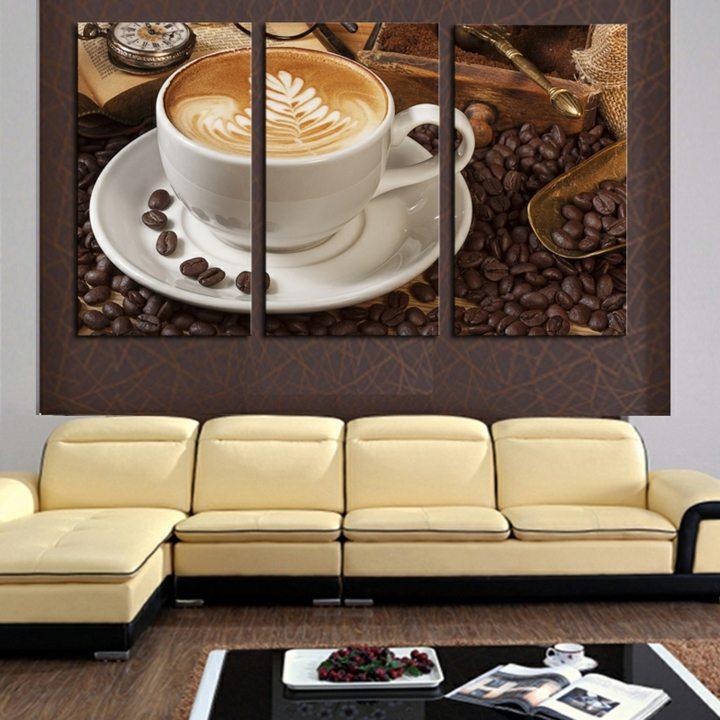 cafe inspiraion cuadros detalles amarillo