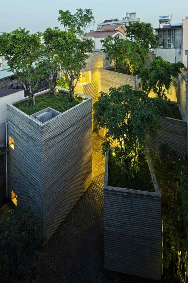 tree house blocks rooftops