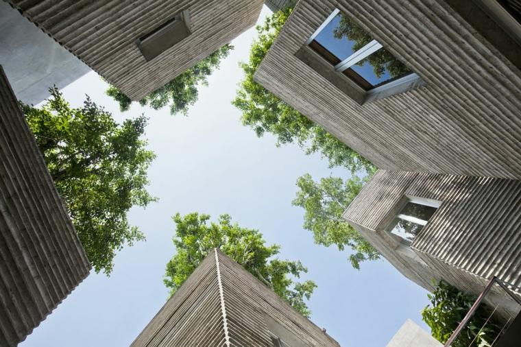 diseño casa de los àrboles modena