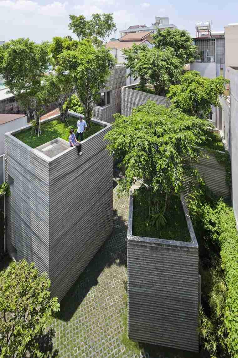 casa de los àrboles Vietnam