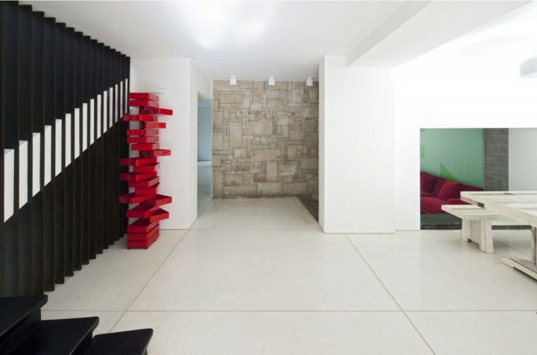 casa decor detalles rojos decorar comedor moderno ideas
