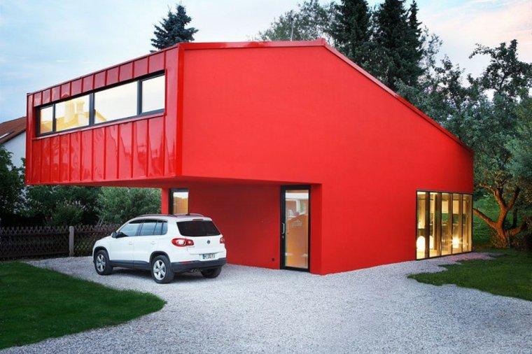 casa decor opciones casa pintadas color rojo ideas