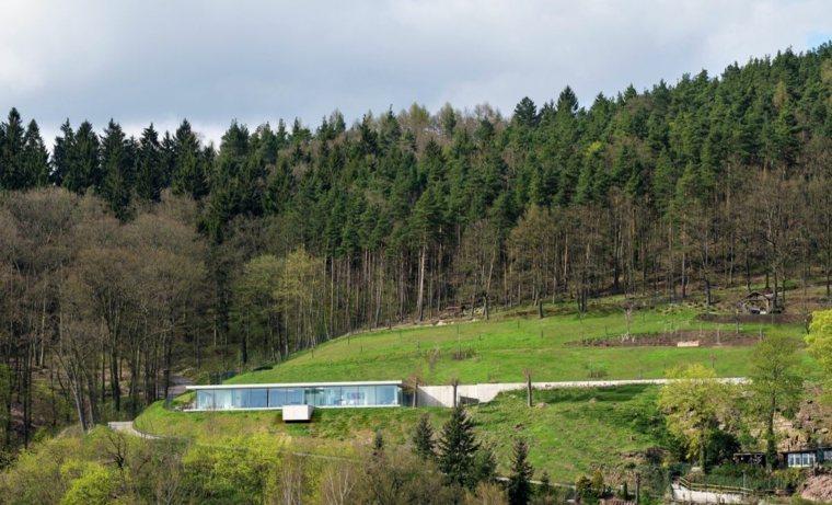 arquitectura moderna techos verdes