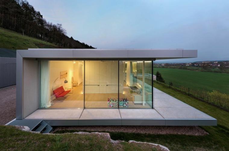 interior casa campo moderna