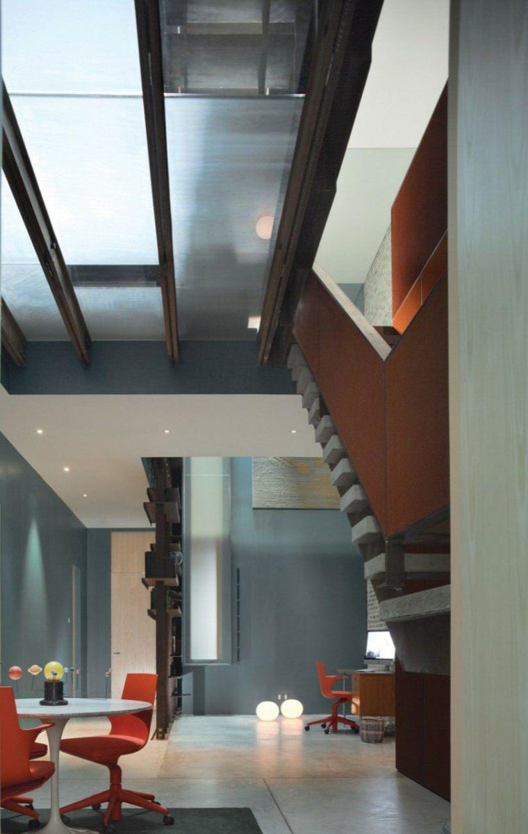casa moderna crital techo comedor moderno ideas