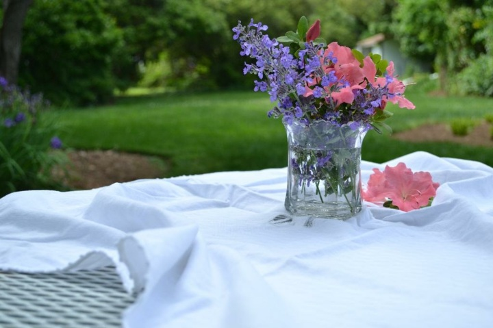 cercano diy detalles mesas rosas