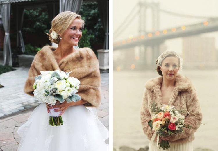 Ponchos y rebecas para novias de invierno 25 modelos for Chaquetas de novia