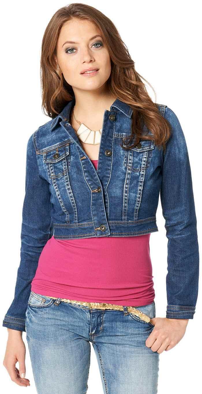 Chaqueta vaquera de mujer, lo último en moda que está arrasando con Primark. Si vosotras necesitas de un look desenfado y divertido, es momento de mirar lo que Primark chaquetas tiene para vosotras/5(8).