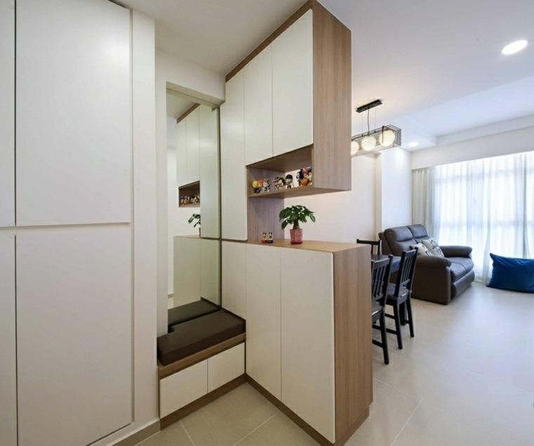 claros colores simples salas plegables cojines