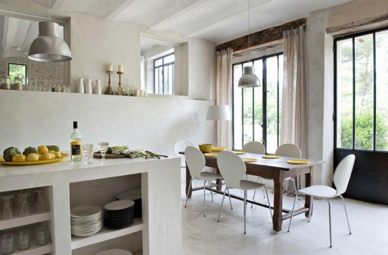 cocina comedor original diseño