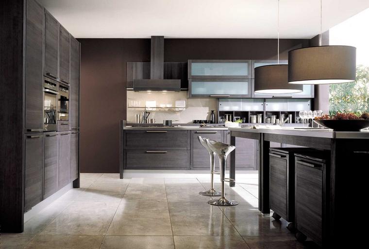 Cocina cuadrada con forma de u o l m s de 50 ideas para for Cocinas cuadradas modernas