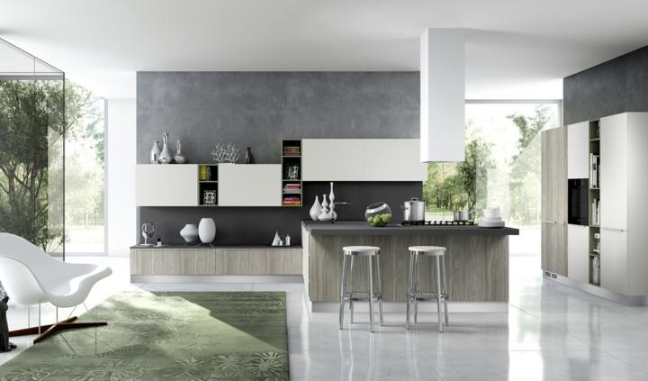 Cocina decoracion moderna y contemporanea en 50 opciones. -