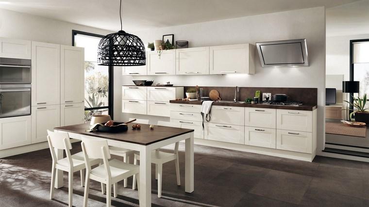 Muebles separadores de cocina y comedor for Amueblar cocina cuadrada