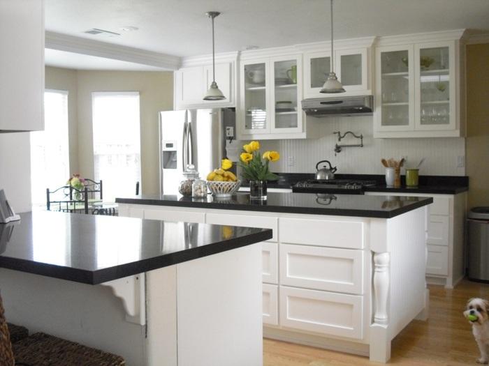 cocinas blancas pequeñas salones ideas salones