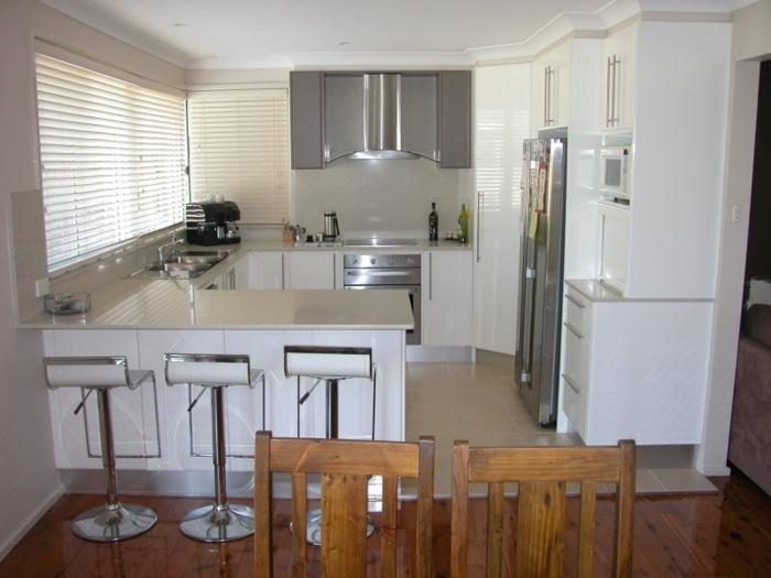 cocinas blancas pequeñas salones pueblo muebles salas