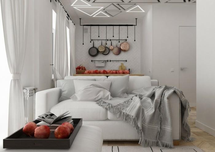 colgaderos paredes soluciones estilos geometricos