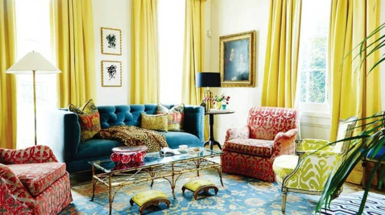 colores decoracion salones modernos