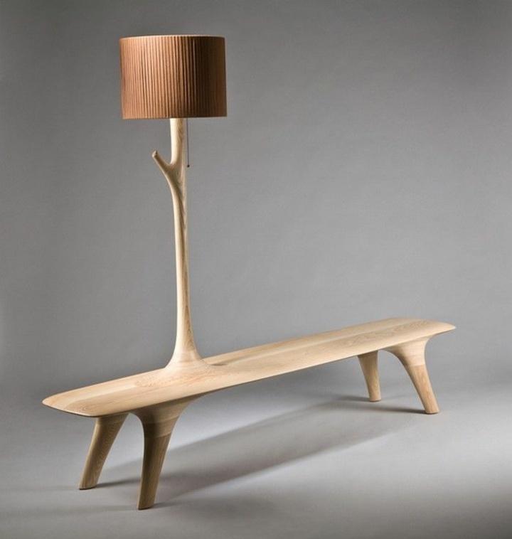 colores sentidos materiales muebles interiores lamparas