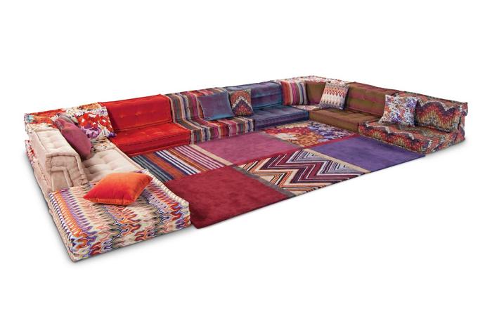 coloridos salones ideas muebles traces alfombras