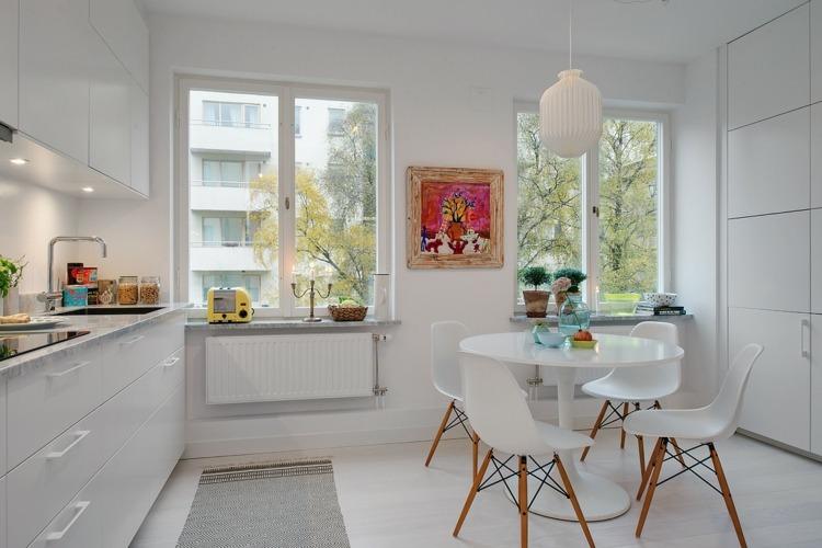 Dise os cocinas peque as modernas cincuenta modelos for Disenos de cocinas comedor