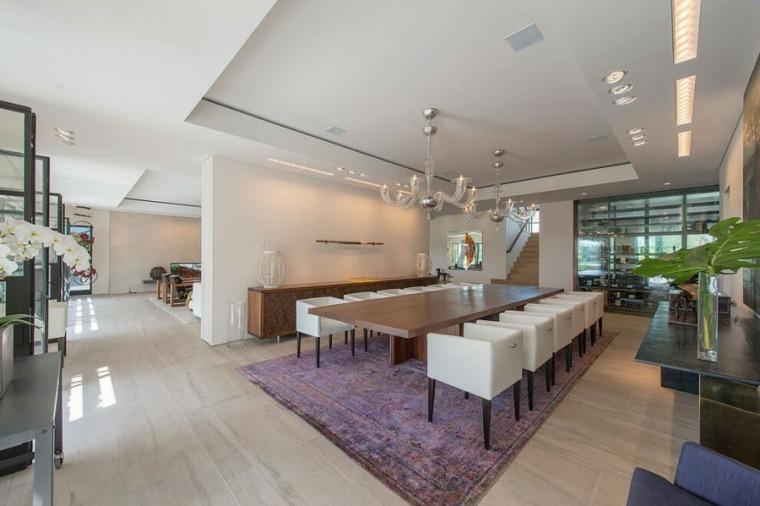 comedores combinacion disenos amplio alfombra purpura ideas