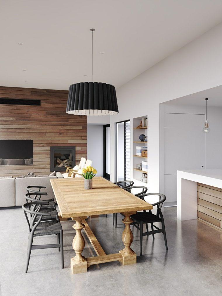Muebles de comedor 50 dise os para que elija el mejor for Disenos de comedores de madera