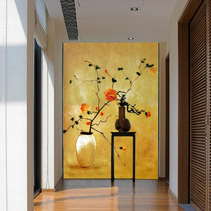 Como decorar pasillos 50 ideas geniales para el hogar for Cuadros verticales grandes