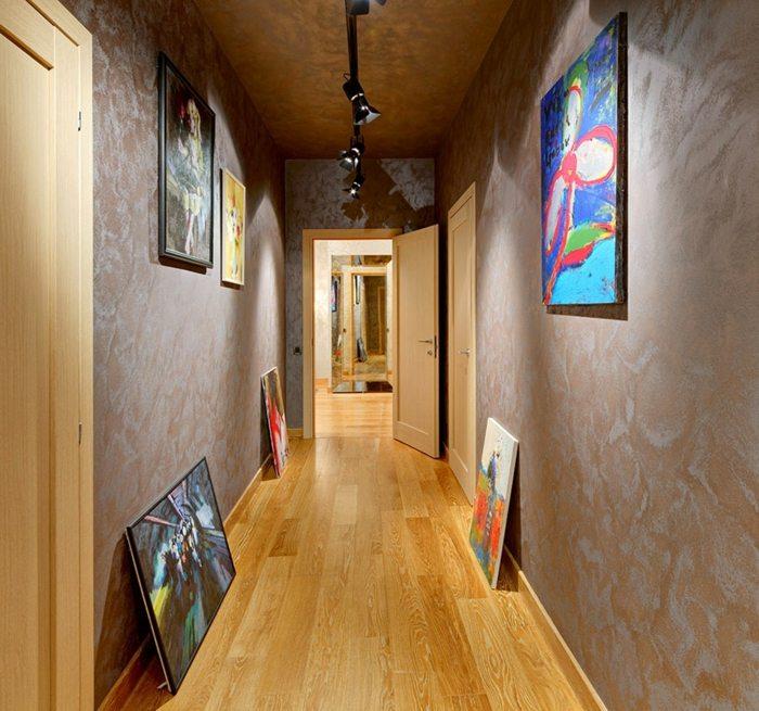 Como decorar pasillos 50 ideas geniales para el hogar - Como decorar un pasillo pequeno ...