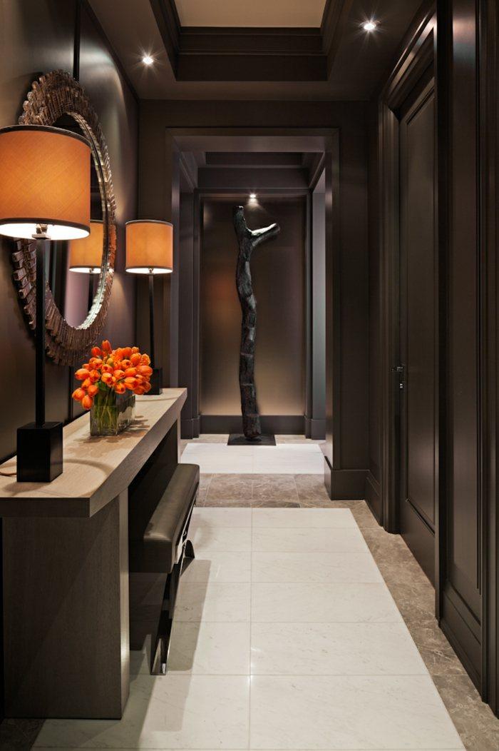 Como decorar pasillos 50 ideas geniales para el hogar for Decoracion con espejos en paredes