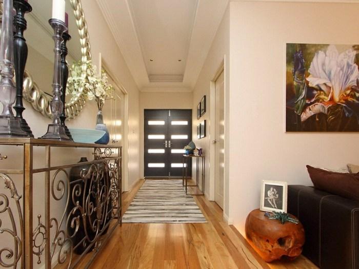 Como decorar pasillos 50 ideas geniales para el hogar - Decoracion de paredes de pasillos ...