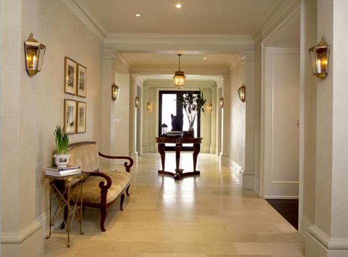Como decorar pasillos 50 ideas geniales para el hogar - Lamparas para pasillos casa ...