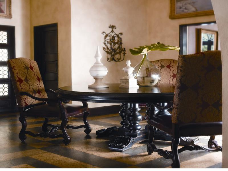 Decoracion andaluza motivos patrones y colores con - Muebles rusticos en sevilla ...