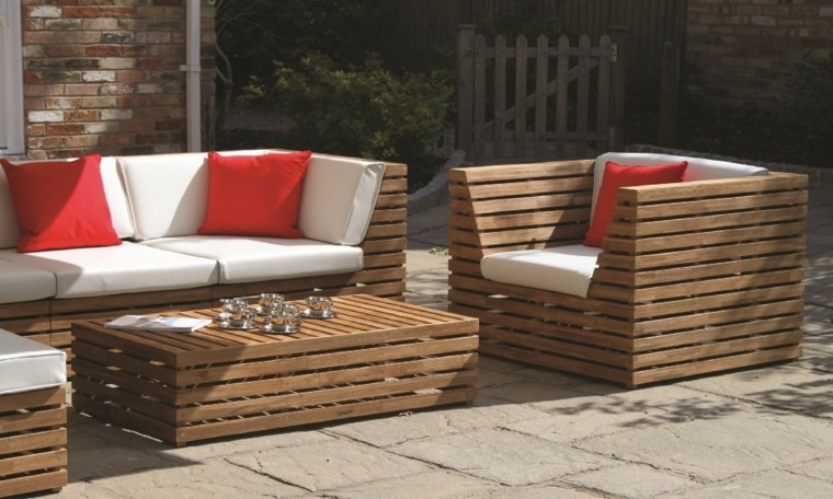 sofas jardin los 50 mejores modelos de esta temporada. Black Bedroom Furniture Sets. Home Design Ideas