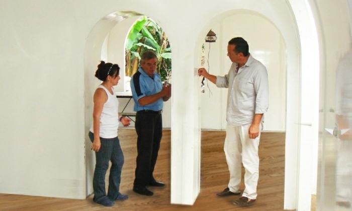 creatividad casas interiores soluciones puertas modulos