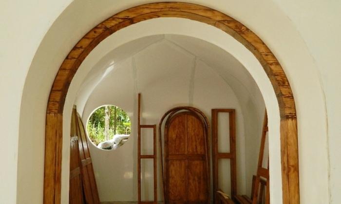 creatividad casas interiores soluciones arcos