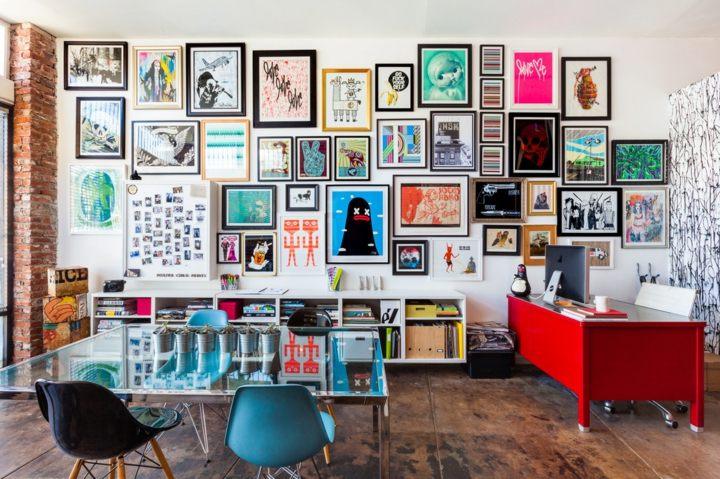creativo comedor paredes tendencias rojos
